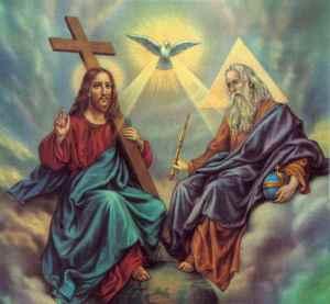 Pai, Filho e Espirito Santo